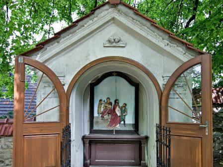Kostelíček / fotogalerie / Zastavení křížové cesty u Kostelíčka