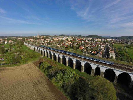 Viadukty / fotogalerie / Letecký pohled na viadukty