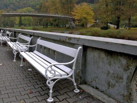 Lázně Teplice nad Bečvou / fotogalerie / Promenáda v lázních