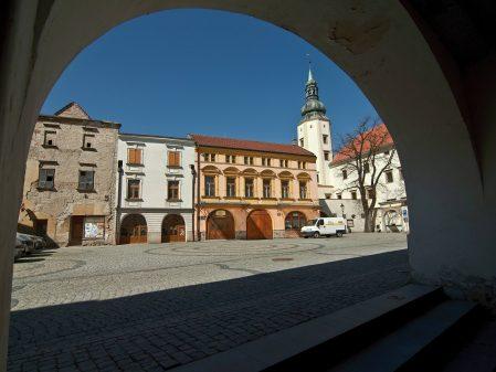 Zámek / fotogalerie / Pohled na Pernštejnské náměstí
