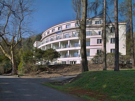 Lázně Teplice nad Bečvou / fotogalerie / Areál lázní
