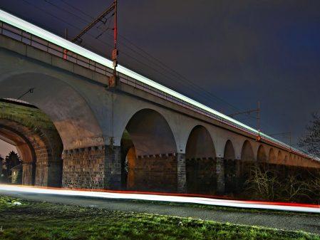 Viadukty / fotogalerie / Viadukty v noci