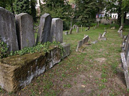 Židovský hřbitov / fotogalerie / Židovský hřbitov v Hranicích