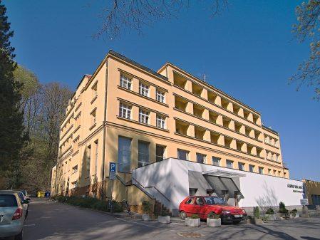 Lázně Teplice nad Bečvou / fotogalerie / Lázeňský dům Janáček