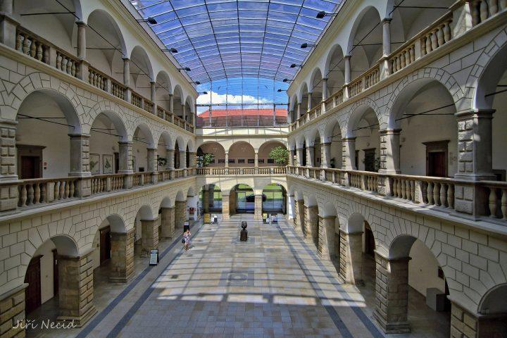 Dvorana hranického zámku