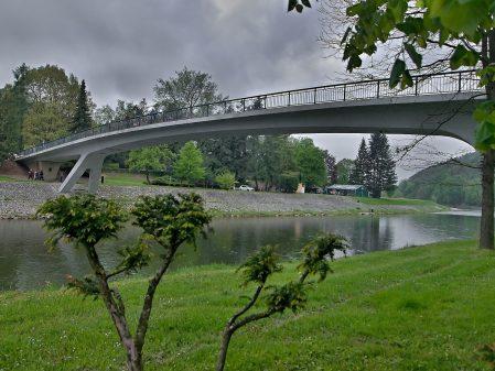Lázně Teplice nad Bečvou / fotogalerie / Most v lázních