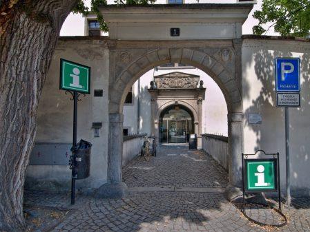 Turistické informační centrum / fotogalerie / Turistické informační centrum v přízemí zámku