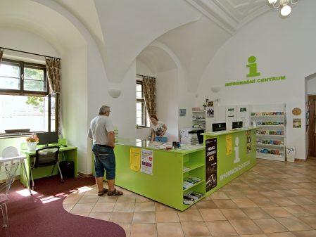 Turistické informační centrum / fotogalerie / Interiér informačního centra