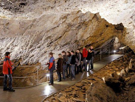 Zbrašovské aragonitové jeskyně / fotogalerie /