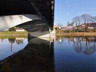 Most přes Bečvu