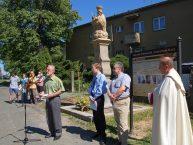 Popraviště a socha Panny Marie Pod Lipami