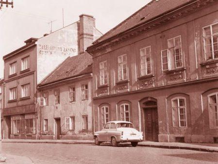 Dům Jana Pinkavy / fotogalerie / Historická fotografie