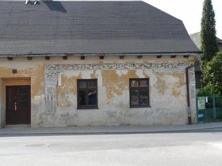 Dům s renesančními sgrafity / fotogalerie /