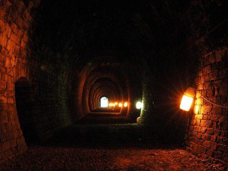 Tunel ve Slavíči / fotogalerie / Interiér tunelu