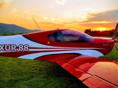 Seznamovací lety a pilotní výcvik / fotogalerie /