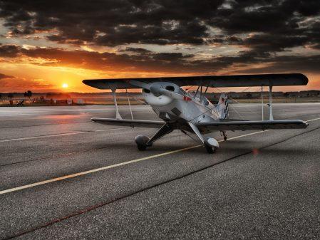 Seznamovací a fotografické lety na motorových letadlech