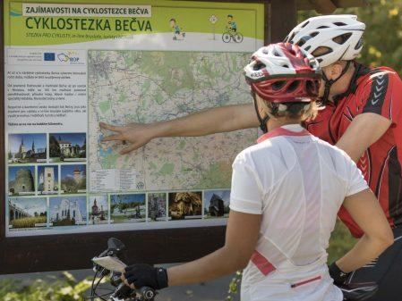 Cyklostezka Bečva / fotogalerie /
