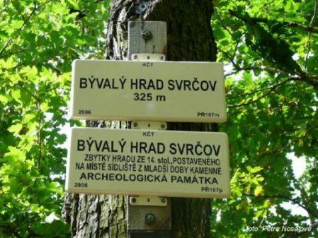 Zřícenina hradu Svrčov / fotogalerie /