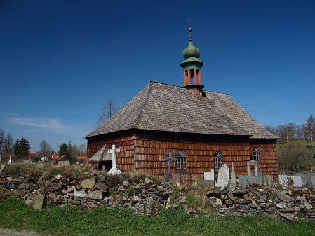 Dřevěný kostelík v Lipné