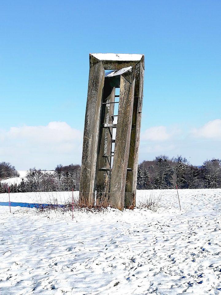 Kříž u Uhřínova (Foto: Kateřina Macháňová )