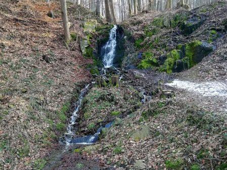 Jarní vodopád Rybáře / fotogalerie / Vodopád na Rybářích