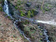 Jarní vodopád Rybáře