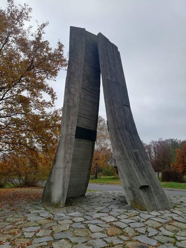 Evropské rozvodí v Bělotíně (Foto: Kateřina Macháňová )