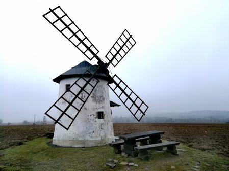 Větrné a vodní mlýny / fotogalerie / Balerův větrný mlýn