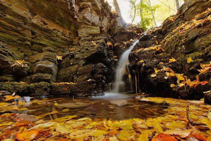 Žabnický vodopád (Zdroj: megapixel.cz)