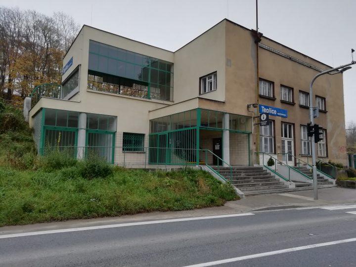 Nádražní budova Teplice nad Bečvou (Foto: Kateřina Macháňová)
