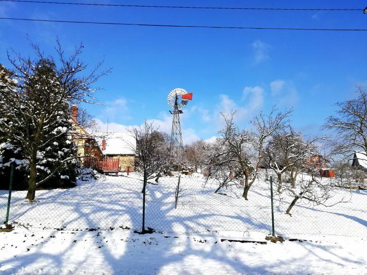 Americké větrné kolo (Foto: Kateřina Macháňová)